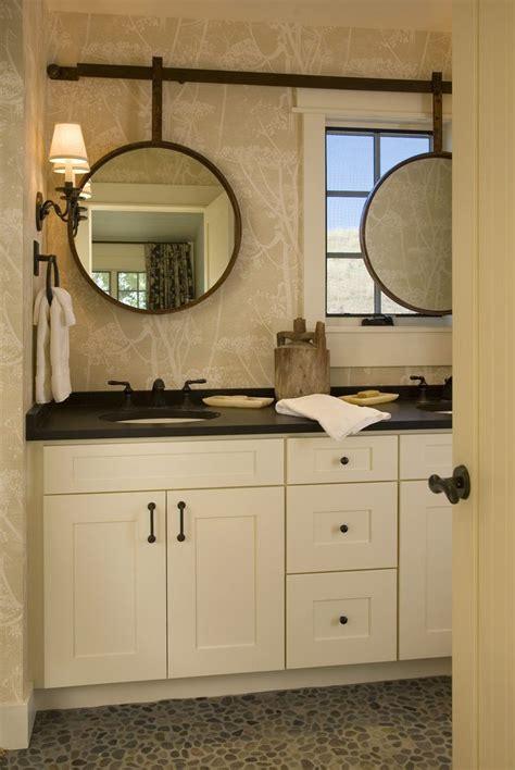 mirror  window bathroom transitional  sliding