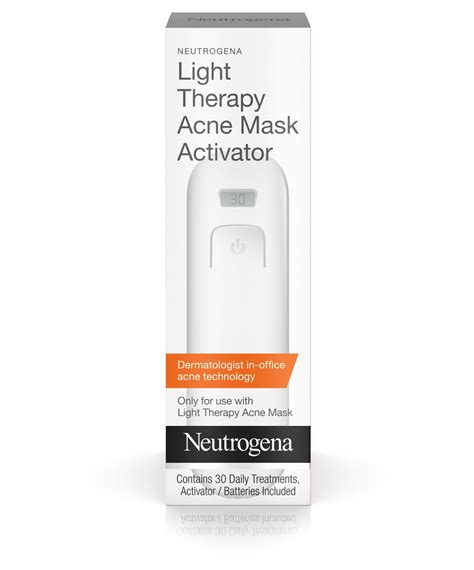acne light therapy mask light therapy acne mask activator