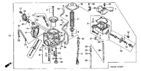 2001 Honda Rancher 350 Wiring Diagram by 2004 Honda Rancher 350 Engine Diagram