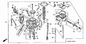 2004 Honda Rancher 350 Engine Diagram