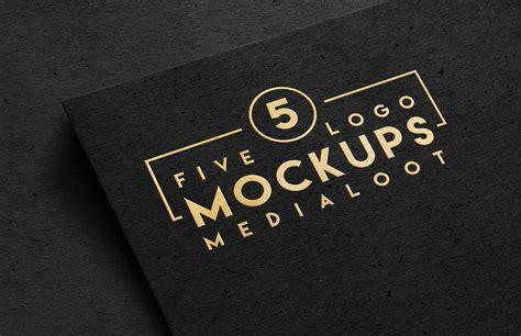 Logo Mockup Logo Mockups Medialoot