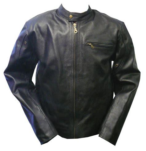 mc leather jacket mens black leather motorcycle jacket