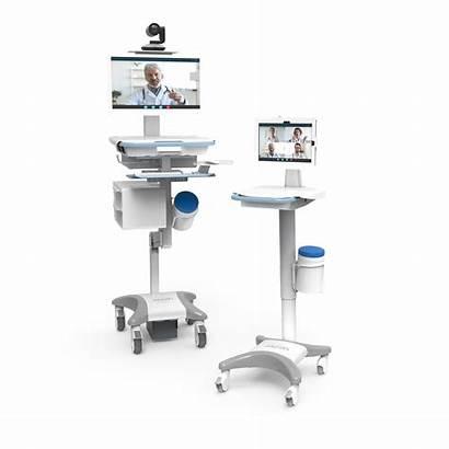 Jaco Carts Telemedicine Adaptable Flexible