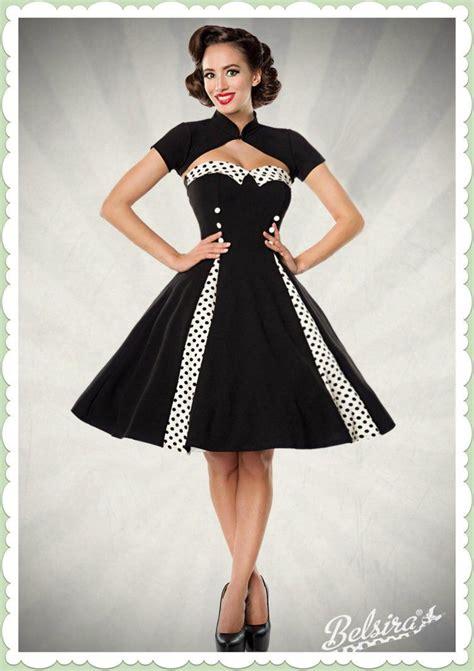 Die 50er Mode by Belsira 50er Jahre Rockabilly Petticoat Kleid