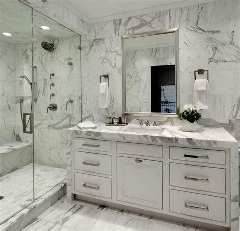 carrara marble bathroom ideas bianco carrara marble transitional bathroom