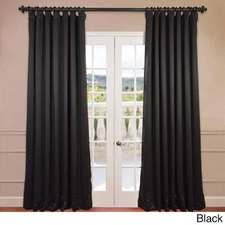 wide panel curtains wide thermal blackout 120 inch curtain panel black