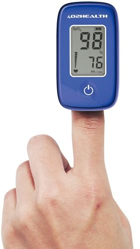 O2HEALTH DB12 FINGER PULSE OXIMETER Free Shipping