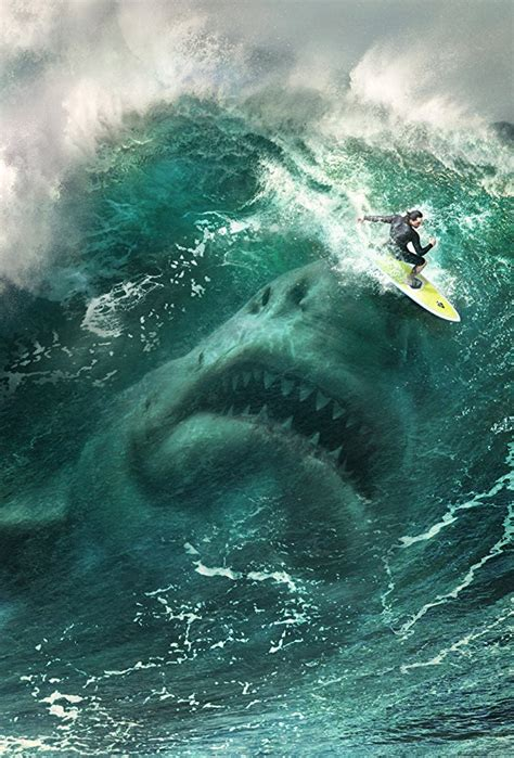 Movie Poster For The Meg Coming Out This August