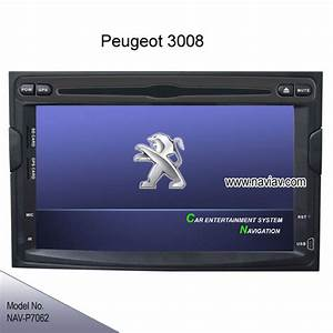 Peugeot 3008 Oem In Dash Stereo Radio Car Dvd Player
