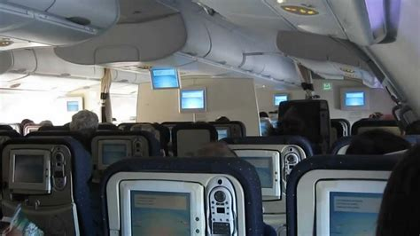 Air France A380 Upper Deck View Youtube