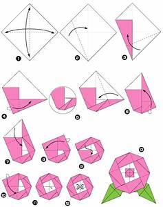 Fleur En Origami Facile : origami de pivoine ~ Farleysfitness.com Idées de Décoration