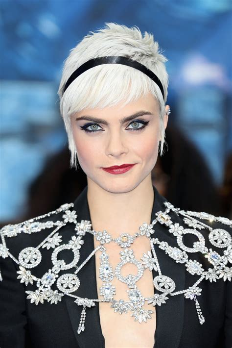 delevingne pixie short hairstyles lookbook
