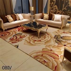 Tapis Beige Salon : tapis pour salon main m lange beige luxe en peau de mouton de style grande rouge tapis dans ~ Teatrodelosmanantiales.com Idées de Décoration