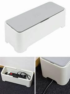 Rangement Cable Bureau : 18 id es pour cacher et ranger vos c bles fils prises et ~ Premium-room.com Idées de Décoration