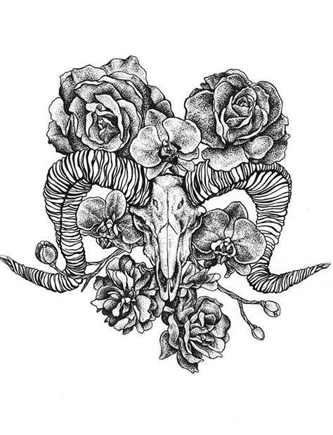 The Romanticism of Lucifer and Florals on Behance