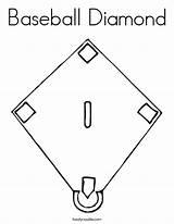 Baseball Diamond Coloring Field Pages Softball Colorado Rockies Printable Stadium Drawing Diagram Twistynoodle Sheets Worksheets Usa Built Bat Noodle Getdrawings sketch template