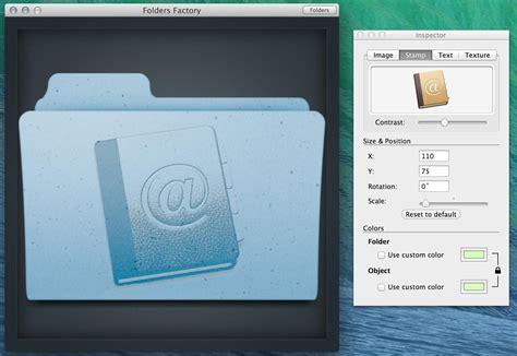 Add A Custom Icon To Os X Folder