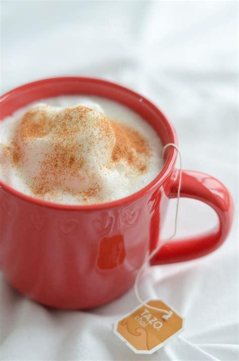 Healthy Chai Tea Latte Recipe The Chic Life
