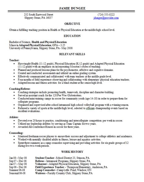 No Work History Resume by Resume Writing Resume Formats Choosing The Right One