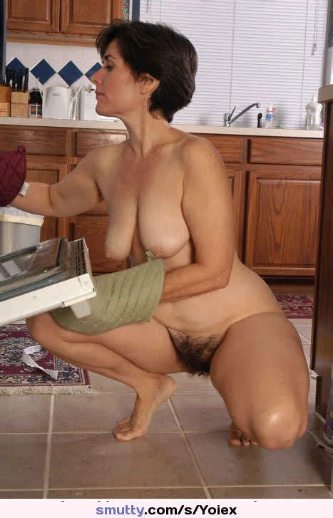 Amateur Hairy Kitchen Mature Milf Naked Nude