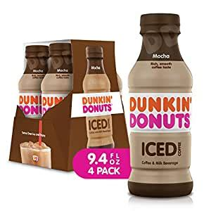 Dunkin donuts, starbucks and most other retail coffee brands do just that. Dunkin Donuts Iced Coffee Beverage, Mocha, 9.4 Fluid Ounce (Pack of 4): Amazon.com: Grocery ...