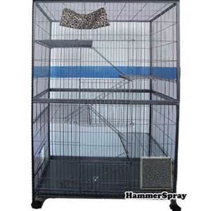 cat cages b2k powder coated cast iron 5 level cat cage hammerspray