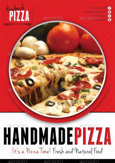 food  pizza menu flyer  rapidgraf graphicriver