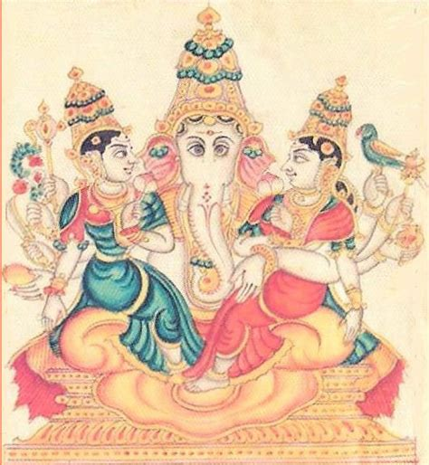 lakshmi ganapathi form of ganesha hindu devotional blog