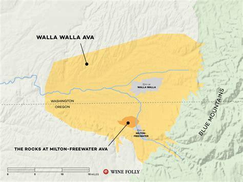 walla wine map know folly region washington vineyards winefolly country wa