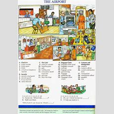 25 Essential & Useful Airport English Vocabulary Words List  Learn English Online