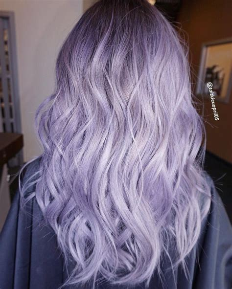Lilac Silver Hair Hair Diddies In 2019 Hair Color