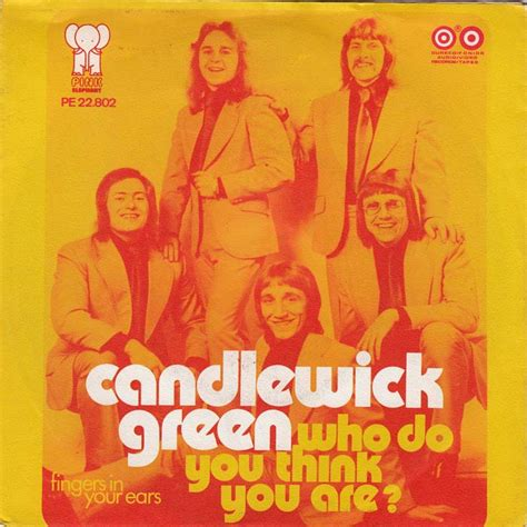 45cat  Candlewick Green  Who Do You Think You Are