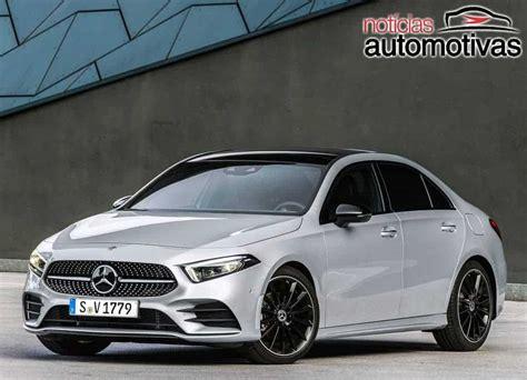 mercedes benz classe  sedan  estreia   mercado