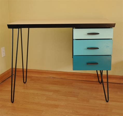 17 best about hairpin on modern desk drawers and mid century desk