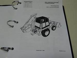 Case 580c Loader Backhoe Parts Catalog  Manual  List  Book