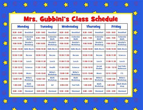 preschool schedule template 8 best images of printable schedule free 806