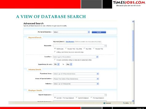 Timesjobs Resume by Timesjobs Services