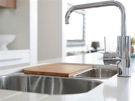 kitchen sink with cutting board how to clean wooden cutting board food network help 8569