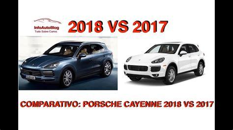 Nmax 2018 Vs 2017 by Comparativo Porsche Cayenne 2018 Vs 2017