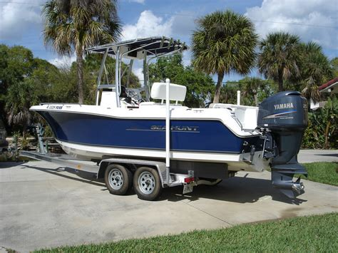 Used Open Bow Boats For Sale Near Me by 2011 Sea Hunt 232 Near New Low Hours The Hull