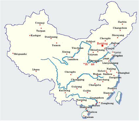 xian map  xian satellite image