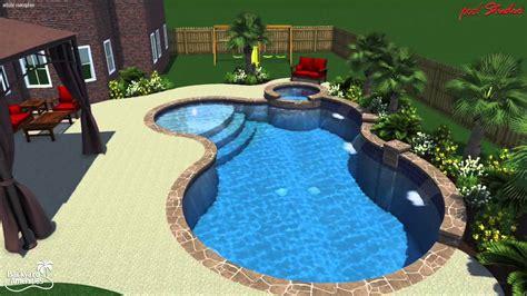 Backyard Amenities - bade pool backyard amenities