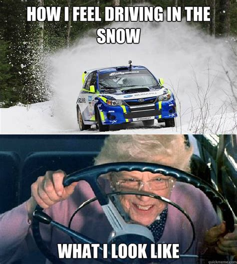 Driving In Snow Meme - driving in snow meme 28 images pin by sami hussman on make em laugh pinterest driving in