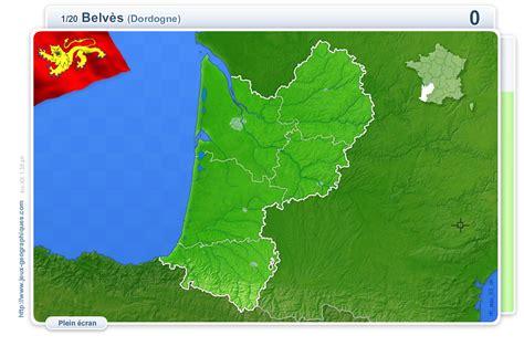Distance Entre Pau Et Bordeaux by Carte Interactive De La Villes D Aquitaine Jeux