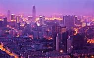 Tianjin China Skyline