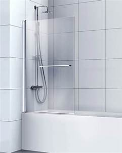 Volet Pivotant Seul Pour Paroi Fixe : poser un pare baignoire ~ Mglfilm.com Idées de Décoration
