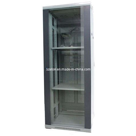 glass door server cabinet china 19 quot standard server cabinet tempered glass door