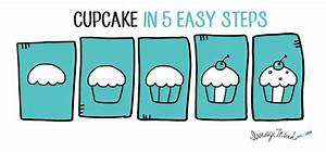 How to Draw a Cupcake in 5 Easy Steps   ImageThink
