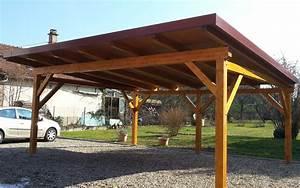Abri De Voiture En Bois : les abris en bois pour voiture artzari blog annuaire ~ Melissatoandfro.com Idées de Décoration