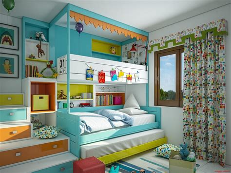 Supercolorful Bedroom Ideas For Kids And Teens